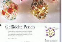 les perles tissées