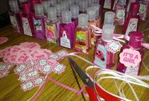 Baby shower ideas / DIY projects