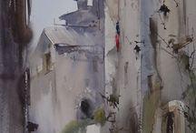 Ilja Ibrajev / akvarelista