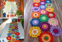 Obrusy szydełkowe / Crochet tablecloths