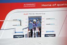 Zauchensee Weltcuport / In mehr oder weniger regelmäßigen Abständen finden in Zauchensee FIS Weltcup-Rennen der Damen statt. Zauchensee verfügt mit der Weltcupstrecke Kälberloch über eine der attraktivsten und spektakulärsten Speed-Strecken im Damen-Weltcupzirkus!