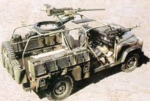 Армейские патрульные автомобили