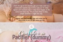 Tips for baby sleeping and potty training