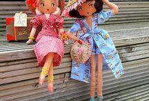 Curious Pip Dolls