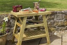 BBQs & Firepits / Be inspired to try alfresco dinning in the UK with our range of Beefeater, Grandhall, Buschbeck and Napoleon BBQs available from GardenSite.co.uk.  #bbq #bbqs