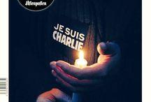 #JesuisCharlie / Je suis Charlie. Nous sommes tous Charlie.
