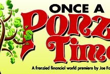 ONCE A PONZI TIME  / A frenzied financial world premiere production written by long-time Players Company member, Joe Foust. / by Peninsula Players Theatre