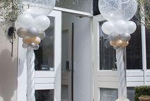 Ballon pronkstukken bruiloft