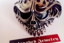 Skull Jewelry / We carry a huge selection of stainless steel biker jewelry