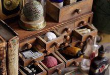 Cabinet de curiosité and collection