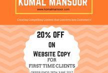 Komal Mansoor FB Page @contentwithkomal