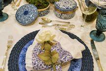decoração table