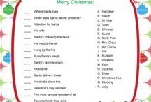 Christmas Games & Activites / by Erin Schrader