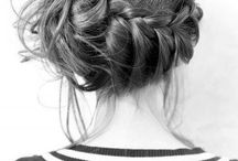 summer time hairstyles / by Bethany Huffman