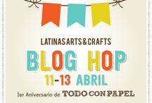 Blog Hop Aniversario Todo con Papel