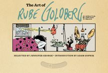 The Art of Rube Goldberg / The comics and cartoons of Rube Goldberg shared in celebration of the release of the new deluxe art book, The Art of Rube Goldberg (Abrams ComicArts, 2013). This board is maintained by Paul Tumey, who co-edited this book and contributed essays and comics scholarship to it. Be sure to visit  www.rubegoldberg.com and www.screwballcomics.blogspot.com for more great Rube Goldberg comics and information! / by Paul Tumey