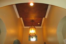 """Copper-tones / Faux finishes in """"Copper-Tones"""" for walls, ceilings, furniture, statues. Both indoor and outdoors"""
