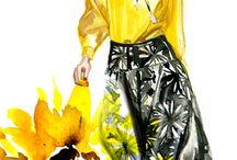 fashion sketch - illustration