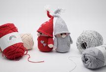 Hækle julepynt
