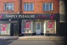 Simply Pleasure Kidderminster / 51-52 Blackwell Street, Kidderminster, DY10 2EE 01562 688 56 Kidderminster@Simplypleasure.com