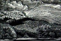 Prints: relief,  wood cut and engraving / by Judith Lombardi