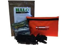 IFAK Active Shooter Kits / This compact pouch contains the essential items needed to administer first aid prior to the arrival of Fire or EMS personnel. We offer a black advanced pouch, and an orange basic pouch.