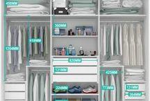 wardrobe and organization