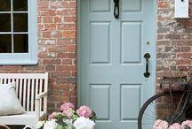 NSV front door and shutters