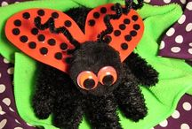 "Ladybug, Ladybug (Song) / ""Ladybug, lady bug -- red and black. I see circles on your back. Ladybug, ladybug fly up high..... fly back safely from - the - sky.""  All things ladybuggy!!! May have some polka-dots thrown in for good measure. LOL"