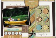 Camping scrapbook pages / by Beth Brinks