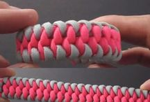 Paracord ideas / by Ashley Palmer