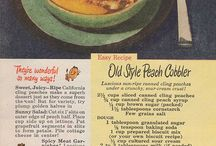 Old Recipes, long ago / by Jacqueline Daniels