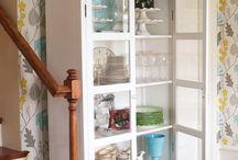 home: wall treatments / by Sandra Fleming