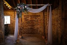 Our Work: Wedding Altars & Archways / Create a beautiful focal point during our ceremony with our natural birch wedding arch - so versatile and so many different ways you could style it to create your dream wedding altar