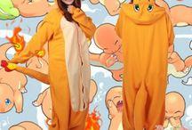 Kawaii - Kigurumi - peignoir - pyjama manga - Pokémon - Salameche
