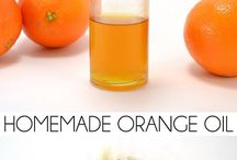 how to make orange oil