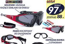 Okulary sportowe / Wybitne, praktyczne i nie do zdarcia okulary dla sportowców niedzielnych i bardzo ekstremalnych. Sprawdź nasze propozycje na lato i zimę.