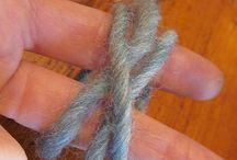 Naalbinding / tkaní s jehlou