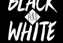Black and White / t-shirts