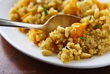 Vegelicious... / vegan and vegetarian recipes / by Tina Garreis