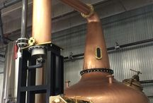 Vapor's Forsyths Still / In 2015 we upgraded to a handmade 1500 gallon copper pot still from the legendary Forsyths company in Scotland. Ours is currently the largest still in Colorado. In it, we'll be embarking on a new product: Boulder-born Single Malt Whiskey. It's the traditional taste, made with Colorado ingenuity. See our still for yourself by taking a tour at Vapor. Tours are at 4:00 pm, Tuesday through Friday and at 3:00 & 5:00 pm, Saturday and Sunday. http://vapordistillery.com/tours/
