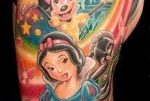Disney tattoo's / Disney