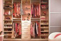 girls room/closet organization / by Teresa Schumacher