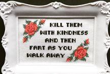 funny stitches