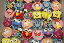 Disney cakes,cupcakes&cookies
