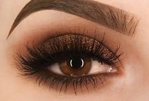 make up>-<