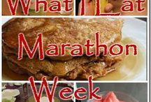marathon training!! / by Rachel Carlson