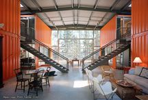 Shipping Container Houses / by Cassey Golden