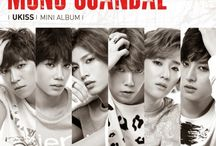 U-KISS / U-KISS (Korean: 유키스, Japanese: ユーキス) is a South Korean boy band formed by NH Media in 2008. Their name is an acronym, standing for Ubiquitous Korean International Idol Super Star.[1] The group consists of Soohyun, Eli, Kiseop, Kevin, Hoon, AJ and Jun.