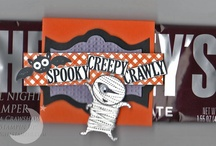 Halloween Projects / Boo to you!  Here are some treats - no tricks - to share at Halloween.